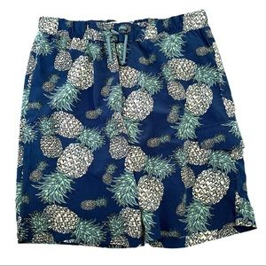 Sovereign Code Blue with Pineapples Swim Shorts